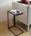 mesa auxiliar de metal