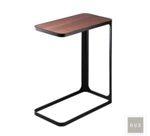 mesa auxiliar de metal negro hus concept