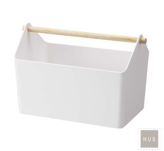 Caja plastica blanca hus concept